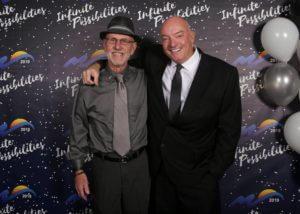 Mayor Zimmerman and Phil Liso