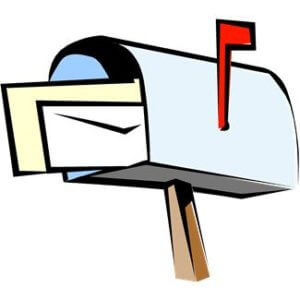 cartoon mailbox